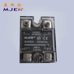 Single Phase Solid State Relay SSR DC/AC Gj 40da pictures & photos