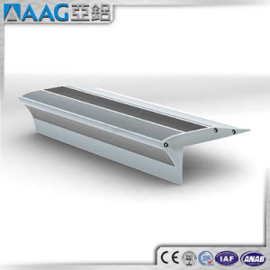 Polished V Shape Aluminum LED Extrusion Profile pictures & photos
