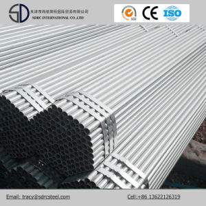 Q195 Hot DIP Galvanized Gi Steel Structure Pipes for Greenhouse pictures & photos