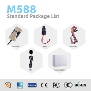 Cheap Manufacturer Vehicle GPS Tracker with Ce Certificate M588 pictures & photos