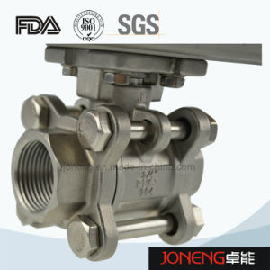 Stainless Steel Sanitary Two-Way Threaded Ball Valve (JN-BLV2003) pictures & photos