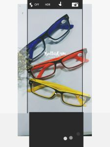 Unisex Style Plastic Reading Glasses with Metal Decoration pictures & photos