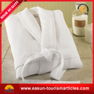100 Cotton Hotel Sleepwear Bathrobe pictures & photos
