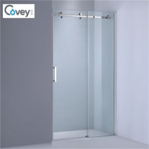 Sanitary Ware Sliding Shower Screen with Stainless Steel Hardware (AKW05-KD) pictures & photos