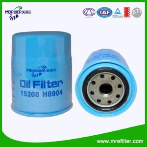 Lubrication System Oil Filter for Nissan Engine Parts (15208-H8904) pictures & photos
