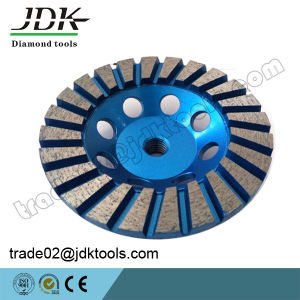 Jdk 100-180mm Diamond Turbo Segment Granite Grinding Cup Wheel Tools pictures & photos
