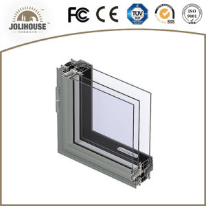 Factory Direct Sale Popular Powder Coating White Casement Aluminium Window pictures & photos