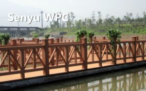 Easy Installation WPC Fencing pictures & photos