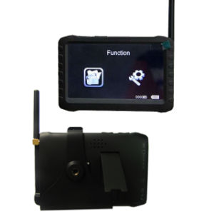 LCD Display and Motion Detection Function Portable 5.8GHz Wireless CCTV Video Audio Mini DVR Monitor pictures & photos