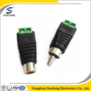 Coax Cat5 CAT6 BNC Male Connector Jack Video Balun Connectors pictures & photos