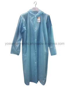 100% PVC Rainwear Waterproof Windproof Outdoor Raincoat (RWC02) pictures & photos