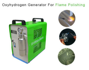 Mini Glass Bottle Sealing Machine Safety Hydrogen Gas Flame Demanded Using pictures & photos