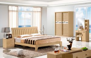 Hot Selling 1.8m Bed Bedroom Bed for Furniture Suite pictures & photos
