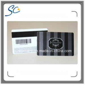 Plastic Magnetic Strip Card with Bacode pictures & photos