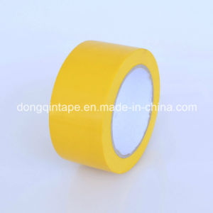 Yellow PVC Pipe Tape with Strong Adhesive (50*20Y) pictures & photos