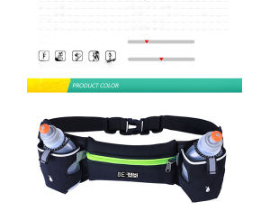 Trial Running Hydration Water Bottle Jogging Belt Bag Packs (BF1610025) pictures & photos