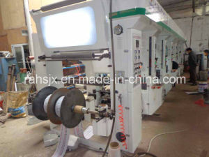 Plastic Film Rotogravure Printing Machine with Middle Speed pictures & photos