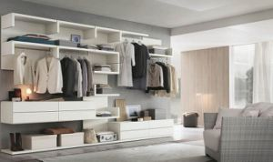 Home Furniture Walk in Closet Wood Wardrobe pictures & photos