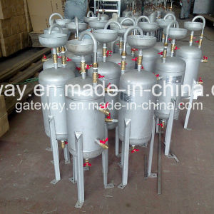 Vertical Stainless Steel Tank with 14L