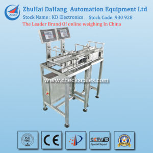 Double Line in-Motion Weighing Systems Checkweigher pictures & photos