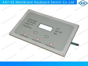 Multi LEDs Dome Embossed Membrane Switch with Clear Acrylic Back Panel pictures & photos