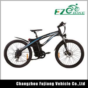 Full Suspension Electric Mountain Bike Tde01 pictures & photos