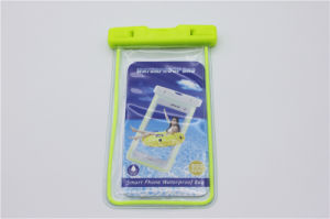 Luminous Waterproof Cell Phone Bag Universal Underwater Case Pouch (FWPB-1) pictures & photos