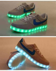New Style Popular Unisex LED Light Sport Shoes Glow Running LED Shoes pictures & photos