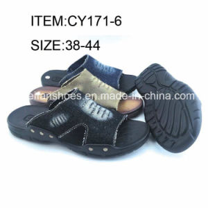 New Arrival Men Beach Sandals Summer Slippers for Wholesale (FFCY0411-03) pictures & photos