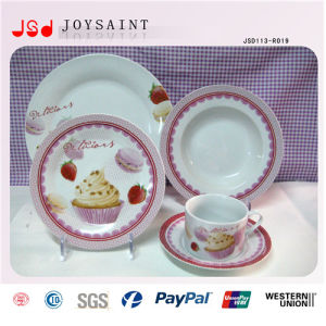 Hot Selling 9inch Porcelain Cheap Bulk Dinner Plates for Pasta pictures & photos