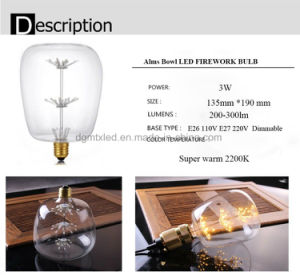 Special starry LED bulb super warm 2700K LED lighting bulb pictures & photos