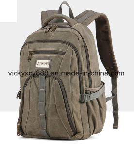 Men Canvas Outdoor Sports Travel Leisure Laptop Notebook Bag (CY3668) pictures & photos