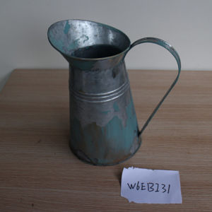 Antique Restaurant Hotel Silver Water Metal Cooking Kettle