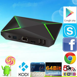 High Performance Kodi 16.0 2g/16g M9s-Z8 S905 TV Box pictures & photos