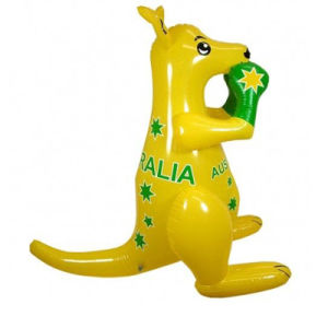 Good PVC or TPU Animal Inflatable Kangaroo Display in The Garden pictures & photos