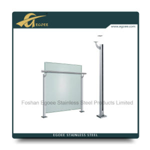Stainless Steel Balcony Glass Railing, Stair Glass Railing pictures & photos