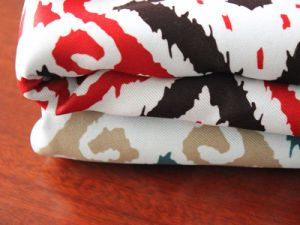 100% Polyester Blackout Printed Cutain Fabric pictures & photos