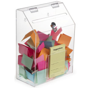 Luxury Transparent Acrylic Church Collection Box pictures & photos