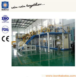 China Semi-Servo Incontinence Pad Making Machine with Ce pictures & photos