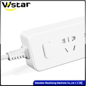 Multi Socket Extension Cord with Us Plug pictures & photos