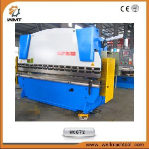 Ce Certificated CNC Hydraulic Press Brake Machinery (WC67Y 160TONX3200) pictures & photos