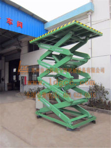 Warehouse Hydraulic Scissor Lifting Equipment (SJG2-9.5) pictures & photos