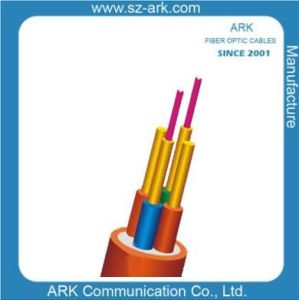 50/125 Fibre Optical Duplex Round Indoor Cable IV Ark pictures & photos