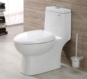 Medium/Small Size Flush Toilet Mute Wash Siphonic Closestool Watersaving Y153 pictures & photos