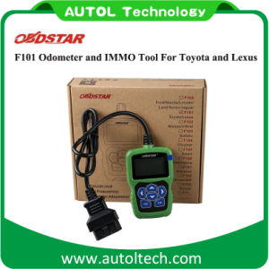 IMMO Reset Tool Obdstar F101 Odometer Adjustment for Toyota and for Lexus Support G Chip pictures & photos