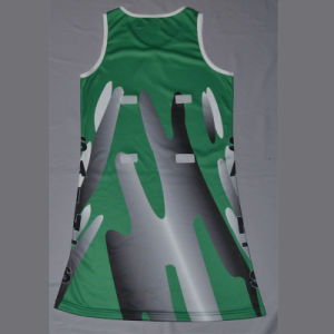 100% Polyester Netball Dress pictures & photos