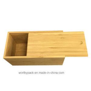 Bamboo Wooden Gift Storage Box for Jewelry and Tea pictures & photos