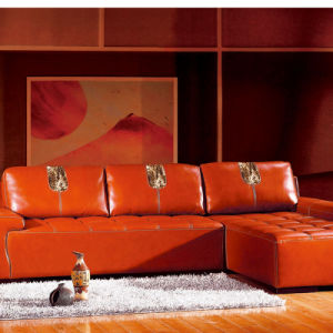 PU Soft Synthetic Leatherfor Sofa pictures & photos