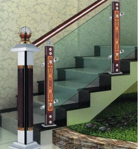 Deluxe Chinese Wind Design Indoor Stair Guardrail Column pictures & photos