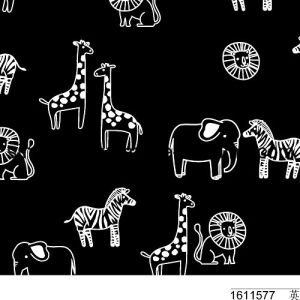Animals Print Knitted Fabric for Bikini Fabric pictures & photos